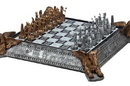 CHH 2130 Gold and Silver Egyptian Chess Set