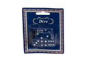 CHH 2500D-BL Blue Dice in Blister Card