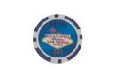 CHH 2600L-BL 25 PC 11.5G Blue Las Vegas Chips