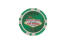 CHH 2600L-GRN 25 PC 11.5G Green Las Vegas Chips