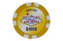 CHH 2600MG-GLD 25 PC Las Vegas Magnetic Chip Gold