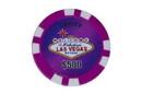 CHH 2600MG-PRPL 25 PC Las Vegas Magnetic Chip - Purple