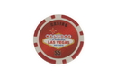 CHH 2600MG-RD 25 PC Las Vegas Magnetic Chips Red