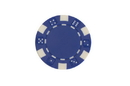 CHH 2600W-BL 25 PC 11.5G Blue Dice Chips