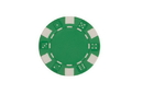 CHH 2600W-GRN 25 PC 11.5G Green Dice Chips