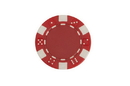 CHH 2600W-RD 25 PC 11.5G Red Dice Chips