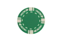 CHH 2605-GRN 25 PC 11.5G Green Flame Chips