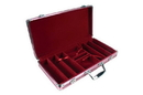 CHH 2796C 300 PC Pink Aluminum Poker Case