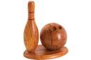 CHH 6143 Bowling pin and bowling ball
