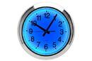 CHH 8155BL Blue LED wall clock