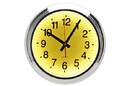 CHH 8155YW Yellow LED Wall Clock