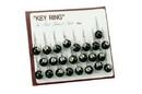 """CHH 8226 1"""" 8 Ball only Key Ring"""