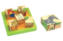 CHH 961041 Wooden 9 PC Block Puzzle
