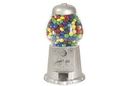 "CHH GM0011-SLV 11"" Sliver Color Gumball Machine"