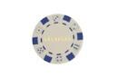 CHH LS2700H-WHT 50 PC White Las Vegas Poker Chips