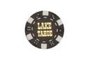CHH LT2700HBLK 25 PC Black Tahoe Poker Chips
