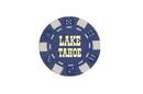 CHH LT2700HBL 25 PC Blue Tahoe Poker Chips