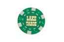 CHH LT2700HGRN 25 PC Green Tahoe Poker Chips