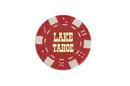 CHH LT2700HRD 25 PC Red Tahoe Poker Chips