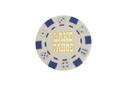 CHH LT2700HWHT 25 PC White Tahoe Poker Chips