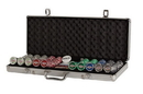 CHH LV2785L 500 PC Las Vegas Aluminum Poker Set