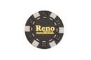 CHH RN2700HBLK 50 PC Black Reno Poker Chips
