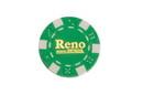 CHH RN2700HGRN 50 PC Green Reno Poker Chips