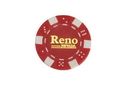 CHH RN2700HRD 50 PC Red Reno Poker Chips