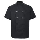 TopTie Unisex Short Sleeve Chef Coat Jacket Uniform