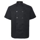 TopTie Unisex Short Sleeve Chef Coat Jacket Uniform