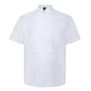 TopTie Unisex Short Sleeve Chef Coat Jacket