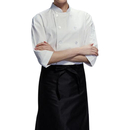 TopTie Unisex Classic 3/4 Sleeve Active Chef Coat