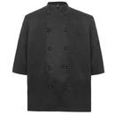 TopTie Unisex Classic 3/4 Sleeve Active Chef Coat