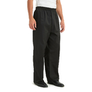 TOPTIE Men's Black Baggy Chef Pant With Elastic Waist
