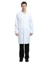 TopTie Wholesale White Scrubs Lab Coat For Men And Women