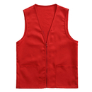 TOPTIE 50 PCS Wholesale Volunteer Vest Supermarket Uniform Vest Clerk Workwear