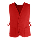 TOPTIE 50 Pcs Unisex Volunteer Cobbler Apron Vest With Pockets & Adjustable ties