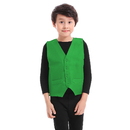TOPTIE 12 Pcs Kid Button Vest, Twill Volunteer Activity & Stage Performance Vest
