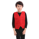 TOPTIE 12 Pcs Kid Vest Volunteer Activity Waistcoat Party Costume Vests