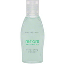 VVF AMENITIES 06026 Dial Restore Conditioning Shampoo - 1 oz. Contour Bottle