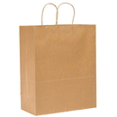 Duro Bag 22084 Duro Kraft Shopping Bag - 13 x 7 x 17, Mart
