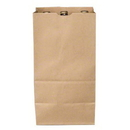 DURO BAG MFG 8165 Duro Kraft Liquor & Beer Bag - 25# Shorty Beer Bag