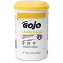 GOJO INDUSTRIES 0915-06 GOJO Lemon Pumice Hand Cleaner - 4.5 lb - 6 per case