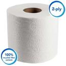KIMBERLY-CLARK 13217 KC Scott 100% RF Standard Roll Bathroom Tissue - 4.0