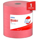 KIMBERLY-CLARK 41055-70 WYPALL X80 Jumbo Roll Wiper - Red