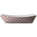 SPECIALTY QUALITY PACKAGING 8703 SQP Food Tray - #300 Red Plaid