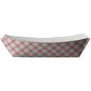 SQP 8703 Food Tray - #300 (3 LB) Red Plaid - 500/CS