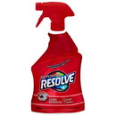 Resolve 97402 Stain Remover Carpet Cleaner 32 Fl Oz Trigger Bottle, Amber, Liquid - 12/CS