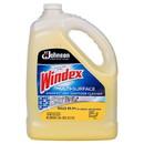 SC Johnson Professional 682265 Windex Multi-Surface Disinfectant Sanitizer Cleaner 128 oz. 1 Gallon Capped Bottle, Yellow, Citrus Fragrance, Liquid, (4 per Case)