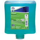 Deb HAB2LT Estesol 2 Liter Cartridge, Greenish, Rainforest Scent, Hair and Body Shower Gel (4 per Case)